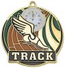 High Tech Medal -Track  Color-Graph Medallions