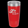 Stainless Steel Ringneck Double Wall Insulated Tumbler -Red Insulated Tumblers 20oz