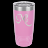 Stainless Steel Ringneck Double Wall Insulated Tumbler -Light Purple Insulated Tumblers 20oz