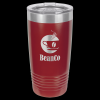 Stainless Steel Ringneck Double Wall Insulated Tumbler -Maroon Insulated Tumblers 20oz