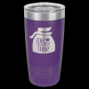 Stainless Steel Ringneck Double Wall Insulated Tumbler -Purple Insulated Tumblers 20oz