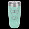 Stainless Steel Ringneck Double Wall Insulated Tumbler -Teal Insulated Tumblers 20oz