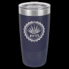 Stainless Steel Ringneck Double Wall Insulated Tumbler -Navy Blue Insulated Tumblers 20oz