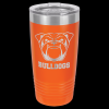 Stainless Steel Ringneck Double Wall Insulated Tumbler -Orange Insulated Tumblers 20oz