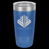 Stainless Steel Ringneck Double Wall Insulated Tumbler -Royal Blue Insulated Tumblers 20oz