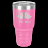 Stainless Steel Ringneck Double Wall Insulated Tumbler -Pink  Insulated Tumblers 30oz