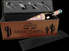 Leatherette Single Wine Box with Tools -Dark Brown Leatherette Items