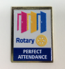 Perfect Attendance Lapel Pin - 2020-21 Theme Pins, Pins, Pins