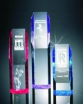 Slant Face Tower Acrylic Award Achievement Acrylic Awards