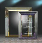 Cove Edge Plaque Achievement Acrylic Awards
