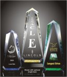 Faceted Obelisk Acrylic Award Achievement Acrylic Awards