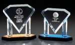 Diamond On Posts Achievement Acrylic Awards