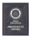 Black Marble Border Clear Acrylic Award Plaque Achievement Awards