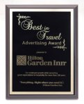 Matte Black Finish Plaque - Multiple Sizes - Always in stock! Achievement Awards