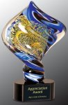 Diamond Twist Art Glass Award Art Glass Awards