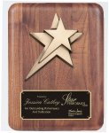 Solid American Walnut Plaque Cast Relief Plaques