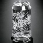 Beverage Can Clear Optical Crystal Awards