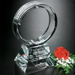 Corona Award Clear Optical Crystal Awards