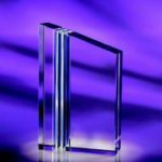 Trans Clear Optical Crystal Awards