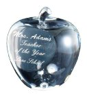 Elegant Crystal  Apple        Closeout - Crystal & Glass