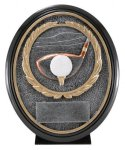 Oval Resin- Golf Closeout - Resins