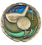 CEM Medal -Golf Color Epoxy Medallions