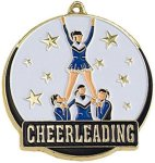 High Tech Medal -Cheerleader  Color-Graph Medallions