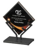 Acrylic Art Galaxy Award Colored Acrylic Awards