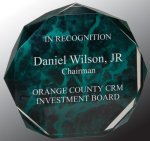 Marble Octagon Acrylic Award Colored Acrylic Awards