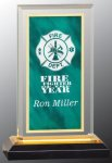 Green & Gold Royal Impress Acrylic Award Colored Acrylic Awards