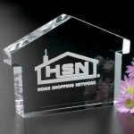 House Paperweight Crystal Paperweights