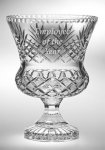 Durham Collection Trophy Vase Crystal Vases
