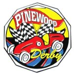 DCM Medal -Pinewood Derby Decagon Colored Medallions