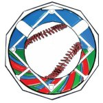 DCM Medal -Baseball  Decagon Colored Medallions