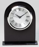 Black Desk Clock Award Desk Clocks