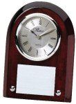 Rosewood Promotional Clock Desk Clocks