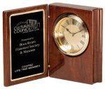 Wood Desk Clock Desk Items