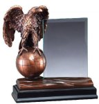 Eagle With Glass Eagle Awards
