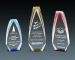 Diamond Carved Obelisk Employee Awards