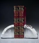 Faceted Bookends Executive Gift Awards