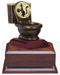 Toilet Bowl Trophy Fantasy Sport Leagues