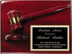 Deluxe Gavel Plaque Gavel Awards
