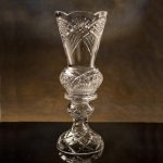 Crystal Victoria Cup Glass and Crystal Award Cups