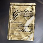 Fascination Gold Glass Plaques