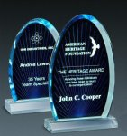 Blue Ray Arch Investment Acrylic Awards