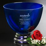 Cobalt Pedestal Bowl Kitchen Gifts