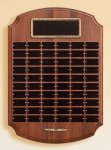 Solid American Walnut Perpetual Plaque Large Perpetual Plaques