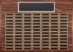 Walnut Finish Perpetual Plaque Large Perpetual Plaques