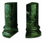 Round Column Bookends Marble & Stone Awards