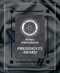 Black Marble Acrylic Award Recognition Plaque Marble & Stone Awards